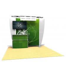 10'x10' Exhibitline 10.11 Monitor Display Kit