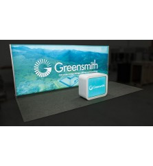 10' x 20' Trade Show Light Box Display Package
