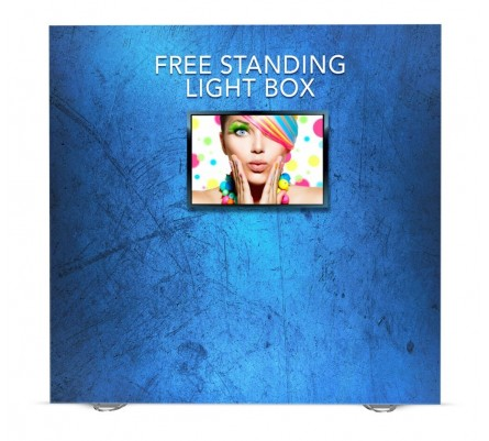 8ft LED Lightbox Monitor Display