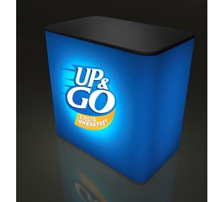 Pump Rectangular Light Box Counter