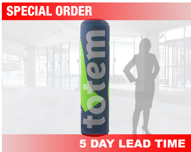 air filled totem outdoor banner