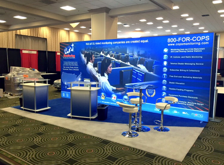 Portable Exhibition Lighting : Affordable portable display solutions in indianapolis