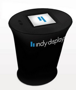 Indianapolis iPad portable trade show graphic counter