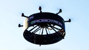 billboard drone display
