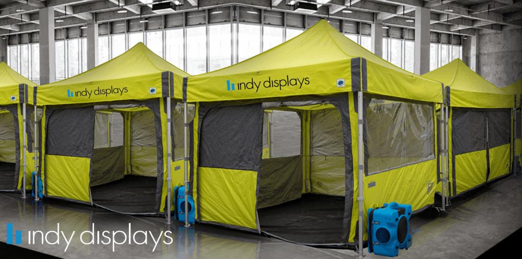 Coronavirus Emergency Medical Care Tents